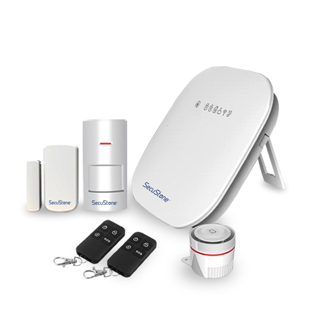 Wireless 433MHz Home Burglar Alarm System PIR Motion Sensor Door Window Security