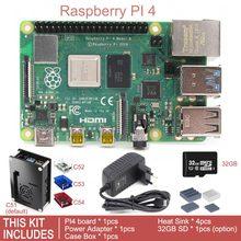 Выпуск Raspberry Pi 4 Модель B BCM2711 четырехъядерный процессор 1,5 ГГц 1 ГБ/2 ГБ/4 ГБ SDRAM комплект макетной платы