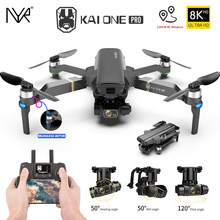 NYR 2021 New KAI ONE Pro Drone 8k HD Mechanical 3-Axis Gimbal Dual Camera 5G Wifi GPS Professional Aerial Photography Quadcopter