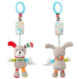 Image 5 - יילוד תינוק עגלת צעצועי פעמון מיטת & תינוק עגלת תליית פעמון צעצועים חינוכיים תינוק רעשן צעצועים רכים סגנונות игрушки