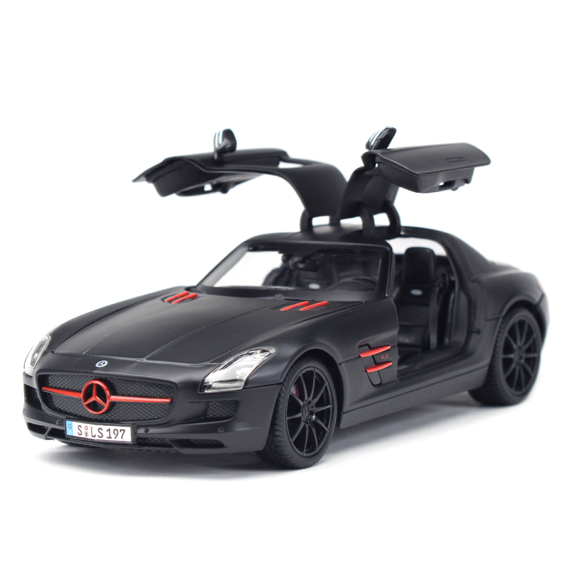 Maisto 1:18 SLS AMG Sports Car Static Simulation Diecast Alloy Model Car
