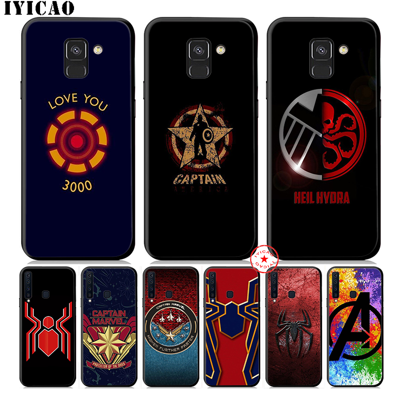 <font><b>Marvel</b></font> Comics <font><b>logo</b></font> Soft Silicone <font><b>Case</b></font> for <font><b>Samsung</b></font> <font><b>Galaxy</b></font> A70s A50s A40s <font><b>A30s</b></font> A20s A10s A20E Phone Cover image
