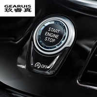 Car styling ENGINE START STOP switch button Sticker For BMW 1 2 3 4 5 6 7 Series F20 F21 F22 F23 F30 F34 F10 F18 F12 F07 F01 F02