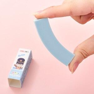Image 5 - 36 sztuk cukierkowe kolory gumka miękkie pcv 4B gumka do ołówka prawidłowe pisanie błąd szkoła Test remis projekt wytrzeć Clen praca domowa 3045
