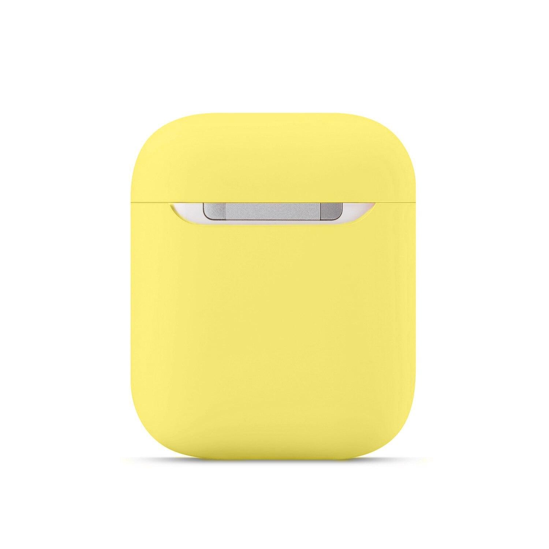 Casos de silicone macio para apple airpods 1/2 protetor bluetooth sem fio fone de ouvido capa para apple ar pods caixa de carregamento sacos 2