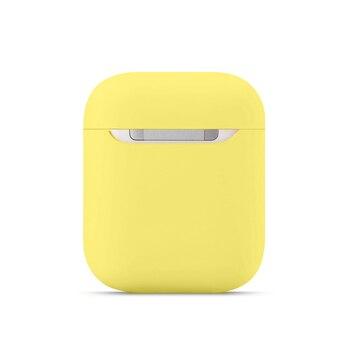 Housses pour en Silicone souple Apple Airpods 1/2 housse de protection pour écouteurs sans fil Bluetooth pour Apple Air Pods 2