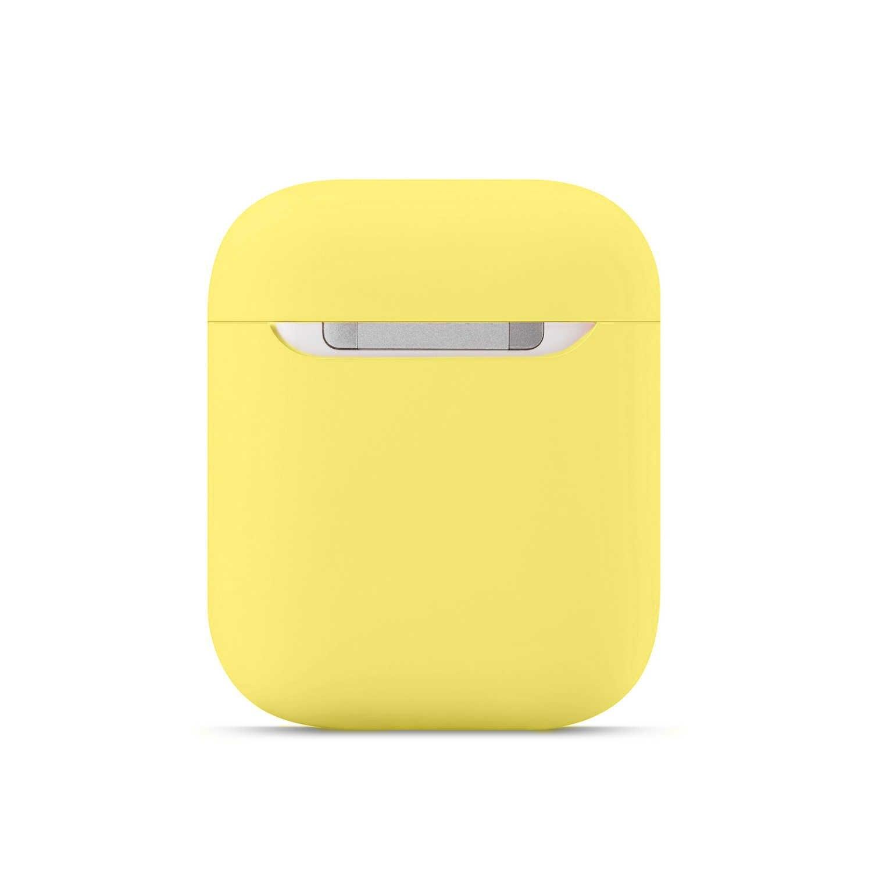 부드러운 실리콘 케이스 애플 Airpods 1/2 보호 블루투스 무선 이어폰 커버 애플 에어 포드 충전 박스 가방