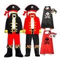 Детский Пиратский Костюм, малыш, капитан, необычное платье