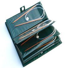 Инструмент для плетения спицы конвеерная машина для розлива газированных бамбуковые круговые иглы конвеерная машина для розлива газированных комплект Бамбук, на возраст 6-16 нет
