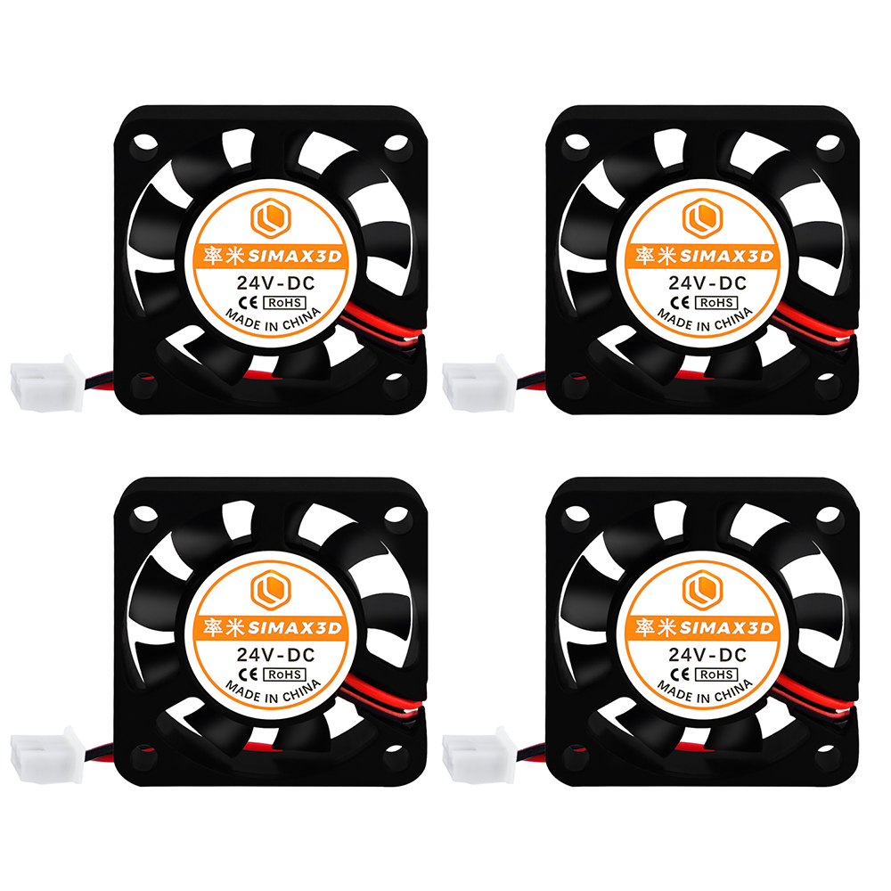 SIMAX3D <font><b>4010</b></font> Cooling Fan DC 24V 4pcs 3D Printer Parts kit Brushless <font><b>Blower</b></font> Fan Ender 3 Pro CR10 hotend Extruder Reprap Turbo Fan image