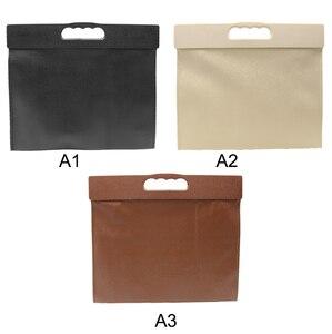 Image 4 - Car Trash Can Garbage Bag Hanging Seat Behind Row Storage Bag Interior Supplies