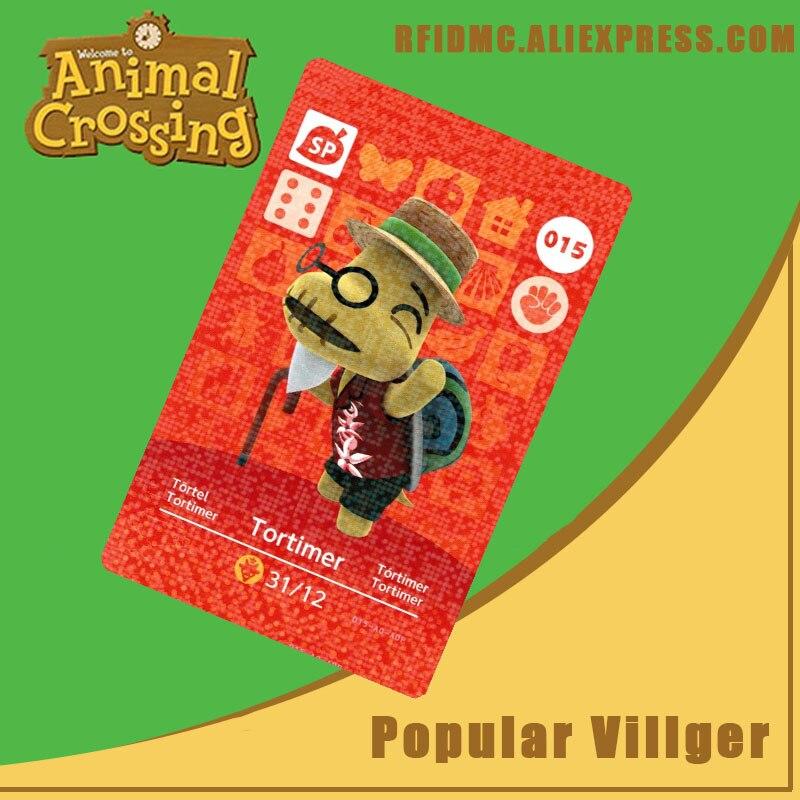 015 Tortimer Animal Crossing Card Amiibo For New Horizons
