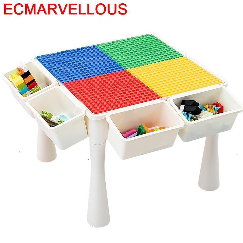 Desk Child Estudio Play Baby Toddler De Plastico Game Kindergarten Mesa Infantil Enfant Study For Kids Children Table