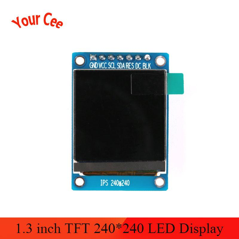 1.3 Inch IPS HD TFT ST7789 Drive IC 240*240 SPI Communication 3.3V Voltage SPI Interface Full Color LCD OLED Display
