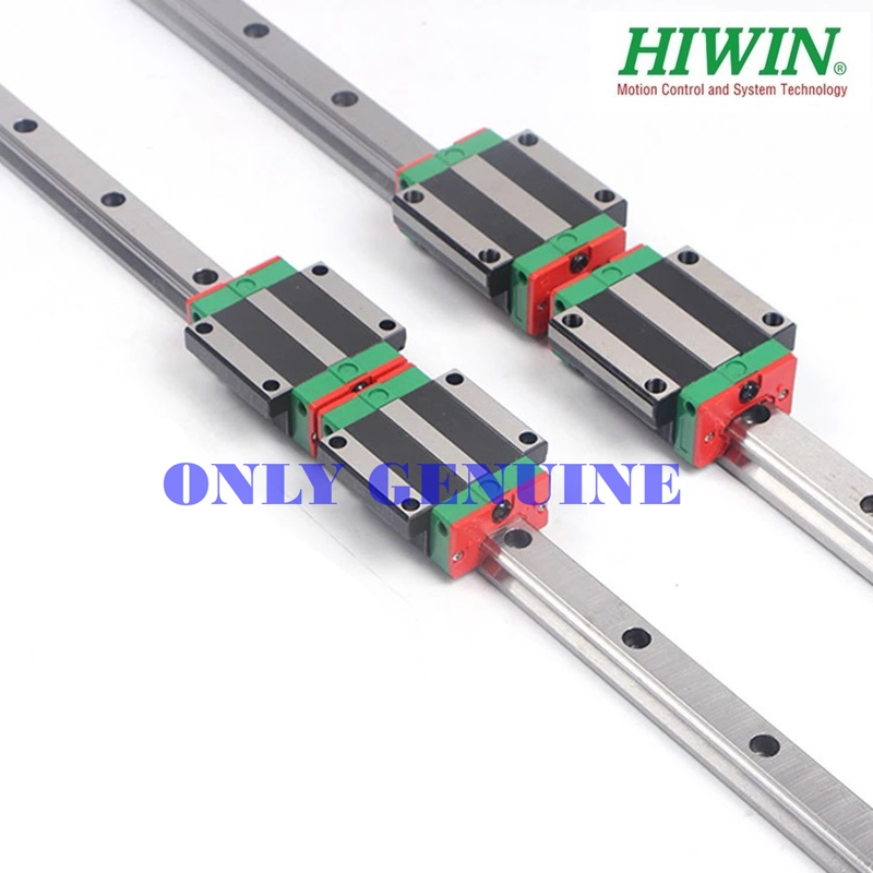 HGR45R-1000C Guide Rail Hiwin GCR15 Material 1000mm Length Guide Rail Linear Bearing