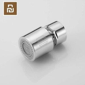 Image 1 - Youpin Dabai çift fonksiyonlu musluk bubbler evrensel çıkış küçük hacimli çift sprey modu sıçrama geçirmez DIY musluk memesi bubbler
