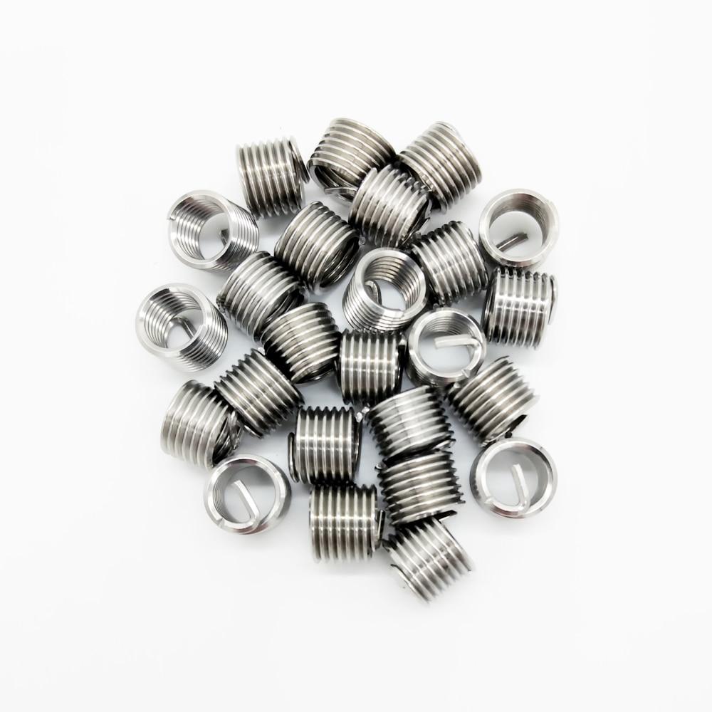 20PCS Car Engine Block Restoring Damaged Thread Repair Tool M3 M4 M5 M6 M7 M8 Auto Helical Coil Insert Garage Tools