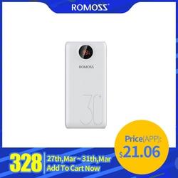 ROMOSS SW30 פרו כוח בנק 26800mAh נייד Powerbank 26800mAh USB PoverBank חיצוני סוללה מטען עבור שיאו mi mi 9 8 iPhone