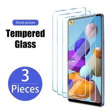 3 шт., Защитное стекло для экрана для Samsung Galaxy S10 S20 плюс премиум класса, закаленное стекло для Samsung S21 ультра S20 FE 5G S10 плюс S7 S6 край