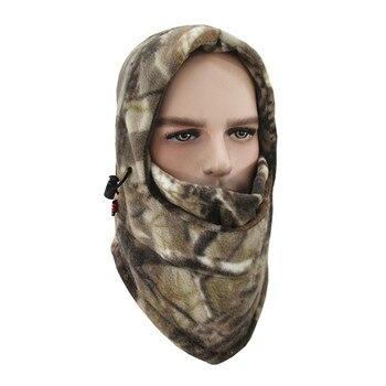 Fleece kypärähuppu metsästykseen – Lumi Camo
