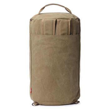 Vintage Men Travel Bag Large Capacity Travel Duffle Rucksack Male Carry on Luggage Storage Bucket Shoulder Bags for Trip XA86ZC