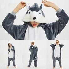 Anime Onesie Women Sleepwear Kigurumi Adult Women's pajamas Stitch Panda Unicorn Totoro Cosplay Children Boy Girl pijama