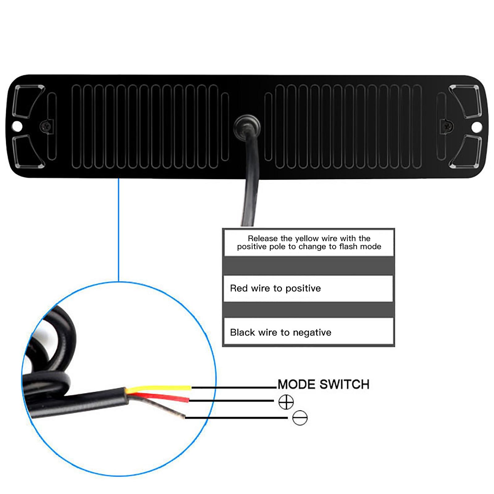 Купить новое поступление 24 светодиода двухрядная аварийная стробоскопическая