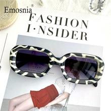 Gafas de sol cuadradas pequeñas Vintage para hombre y mujer, anteojos de sol con patrón de cebra, de marca de diseñador, modernas, de lujo, 2020