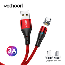 Vothoon 1m Magnetic Cable Fast Charging Micro USB Type C Cable