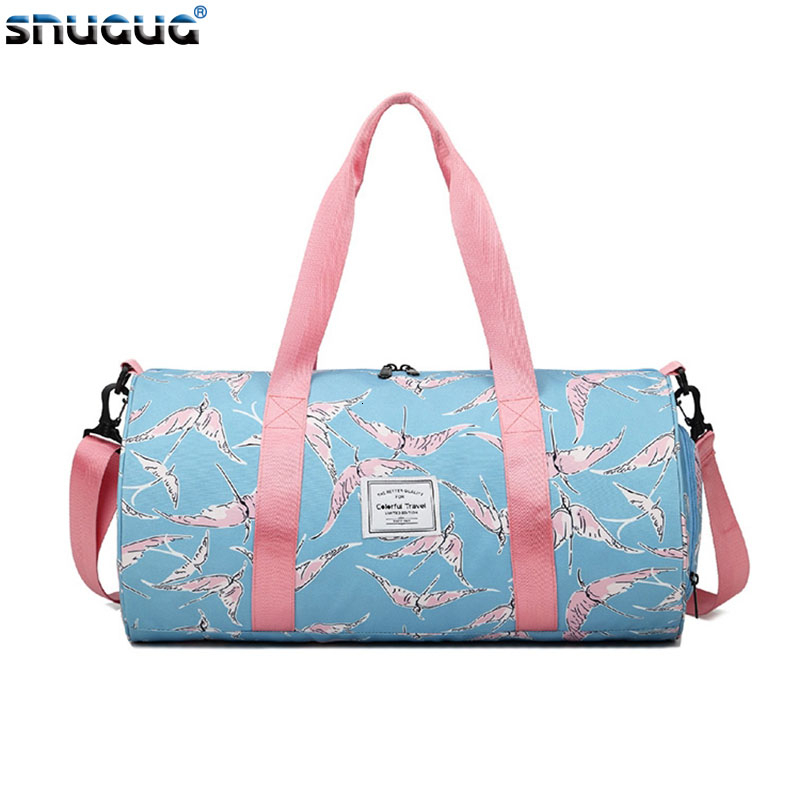 2019 Gym Bag Women Yoga Fitness Bag Waterproof Sports Training Bag For Men Outdoor Sports Shoes Women Dry Wet Gymtas Yoga Bolsa