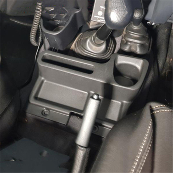 Car Interior Seat  Gear Storage Box Organizer Cup holder Brakest For Toyota Land Cruiser Pick Up LC70 LC76 LC78 Accessories