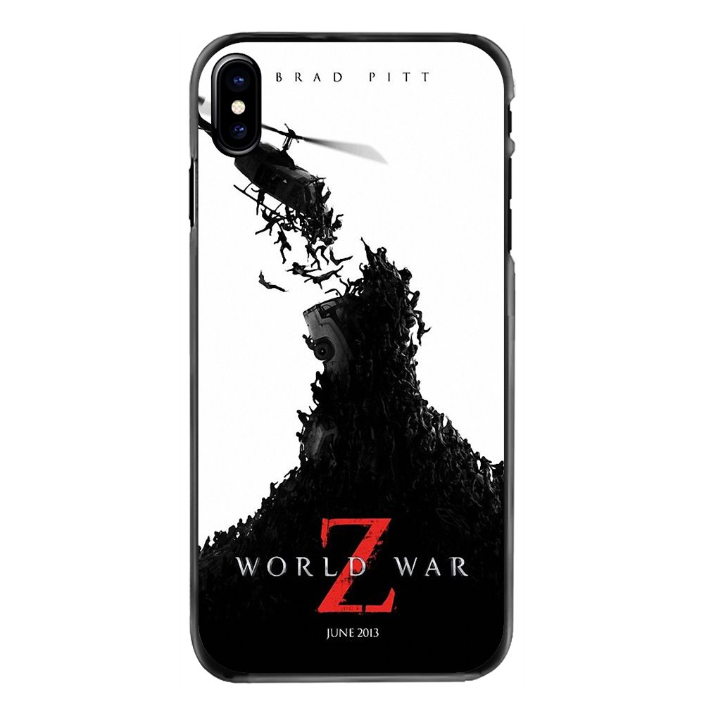 World War Z Beautifully Movie Posters Hard Phone Bag Case For Samsung Galaxy Note 2 3 4 5 S2 S3 S4 S5 MINI S6 S7 edge S8 S9 Plus image
