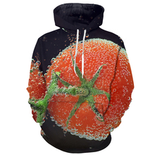Men 3d Hoodies Washed Tomato Vegetable Fashion Zipper Hot Sale Long Sleeve Sweatshirts Male Plus Size
