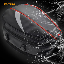 WOSAWE Waterproof 21L Motorcycle Tail Bags Motocross Motorbike Shoulder Seat Trunk Helmet Pack Reflective Safety Storage Case customized motorcycle trunk motorbike storage box mould motorcycle tail box top case mold making