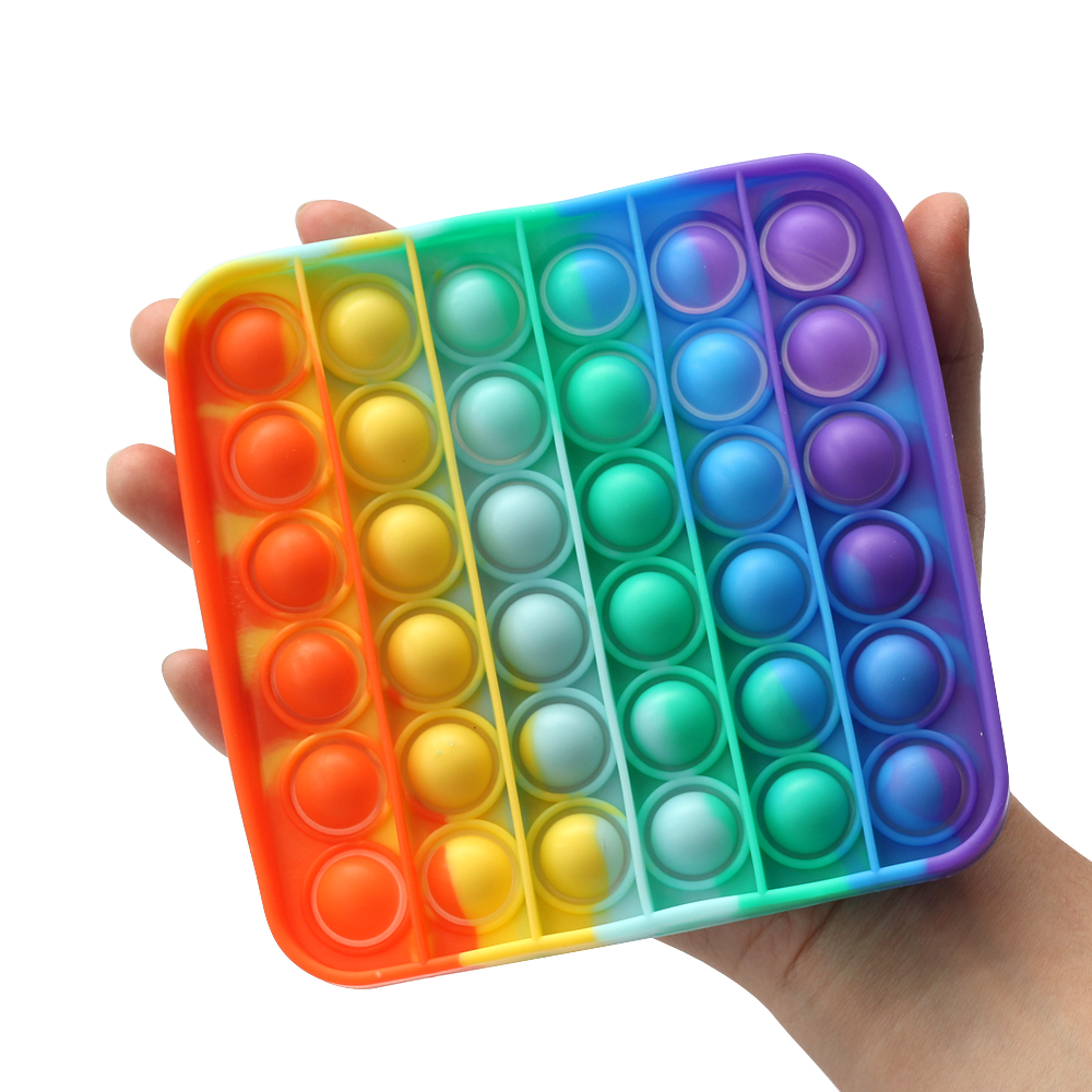 Fidget-Toys Relief-Toy Bubble Box Poppit Anti-Stress Squishy It-Hot-Push Gift Soft img3