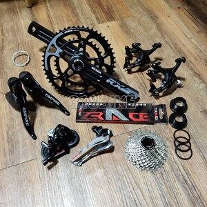 Image 2 - Sensah Rijk + Zrace Crank Rem Cassette Keten, 2X11 Speed, 22S Road Groepset, voor Road Bike Fiets 5800, R7000