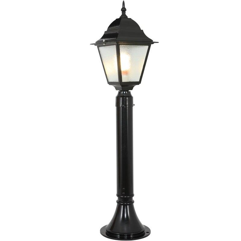 (WECUS) European Retro Lawn Lamp, Garden Courtyard Grass Lamp, Outdoor Landscape Park Street Lamp