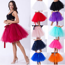 15 Colors Woman Petticoat Crinoline Bridal Underskirt Petticoat Dance Rockabilly Lolita Petticoat Wedding Skirt(China)