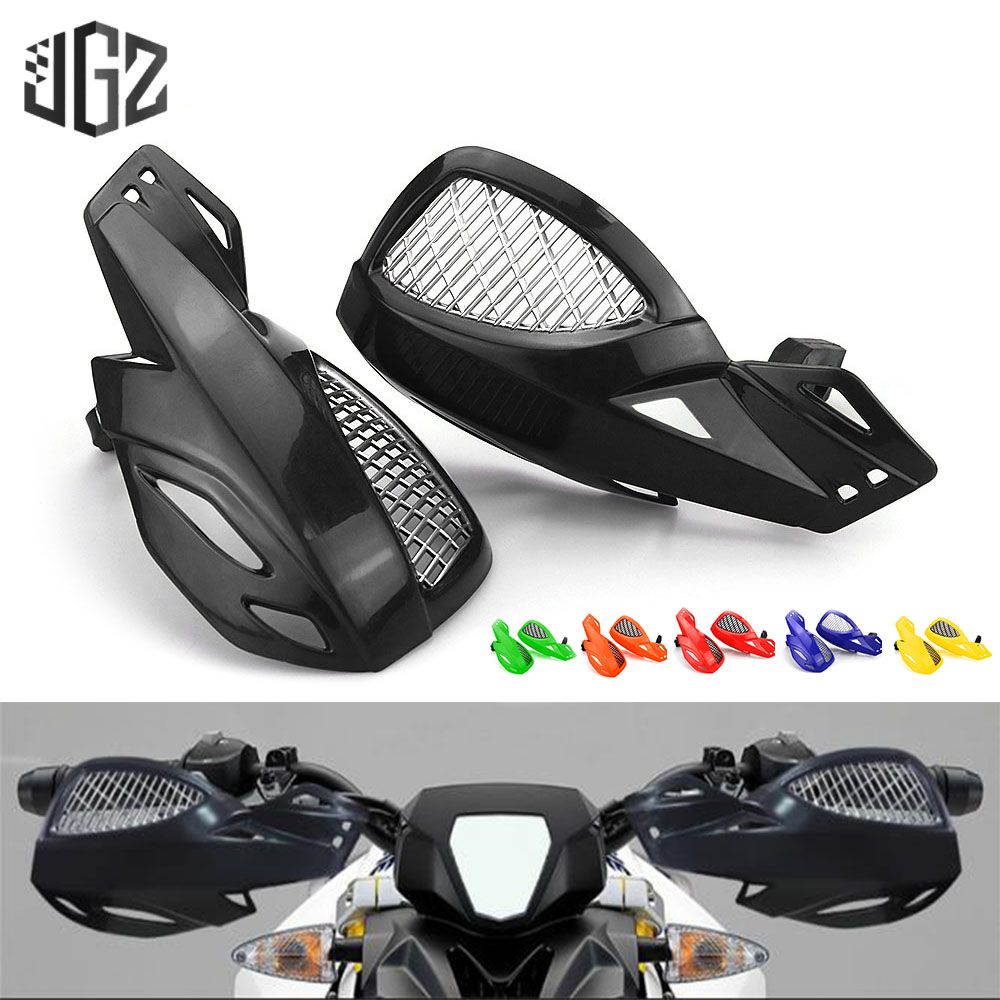 Motorrad 22mm Lenker Hand Guards <font><b>Motocross</b></font> Handschutz Hand Schutz Racing Für Off-road Dirt Bike Pit Bike ATV <font><b>quads</b></font> KTM image