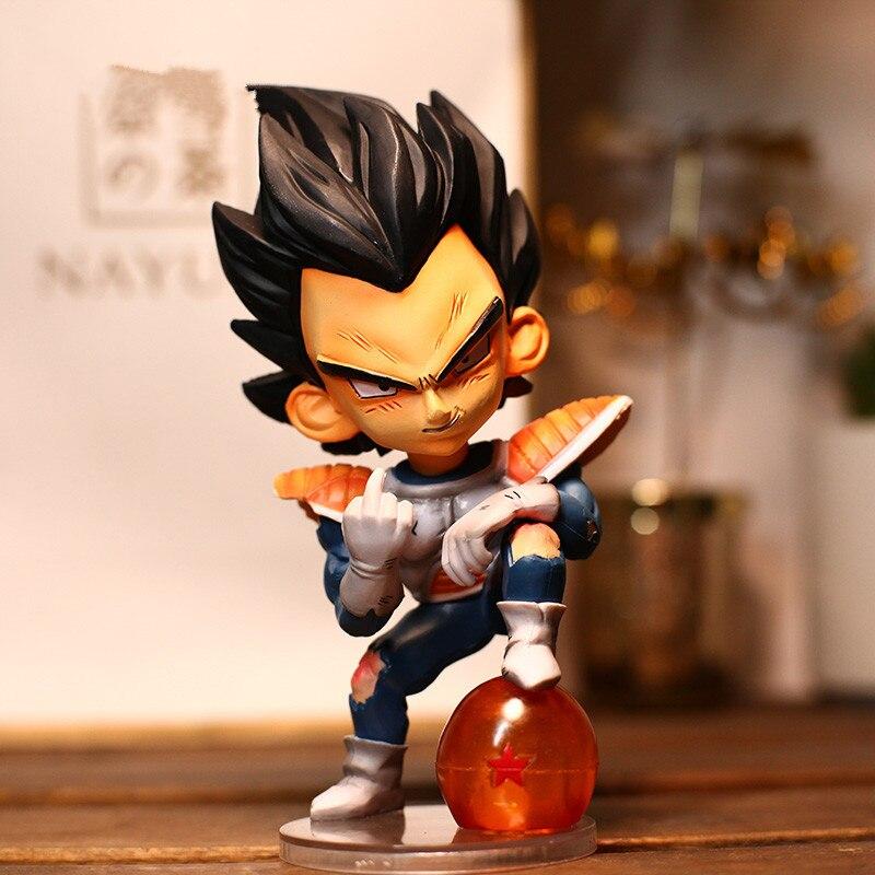 Anime Dragon Ball végéta le doigt moyen méprisé enfance troncs GK Statue PVC Figure recueillir modèle jouet M2097