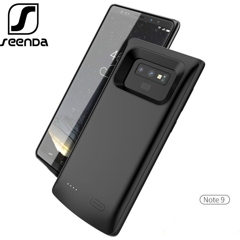 SeenDa 5500mah Battery Case For Samsung Note 8 S8 Plus Shockproof Backup Charging Case For Samsung S8 S9 Plus Note 9 Power Bank