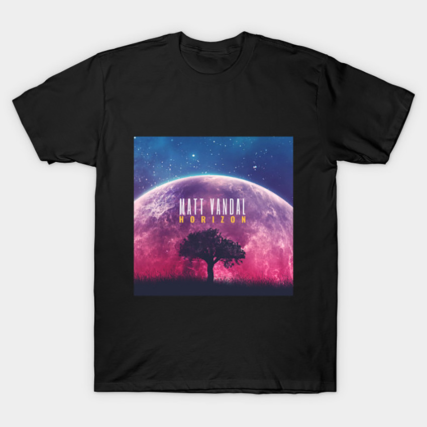 Matt Vandal Horizon Album Cover T Shirt Jazz Tshirt Jazz image