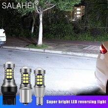 1 шт. 1156 P21W BA15S 7506 R10W T15 921 W16W T20 7440 W21W WY21W 3030 светодиодсветодиодный Автомобильная Дополнительная лампа фонари заднего хода автомобильные Сигна...