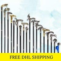 Free DHL Fashion Walking Stick Canes For Men Luxury Decorative Knob Walking Cane Steampunk Skull Head Cane Elegant Hand Stick