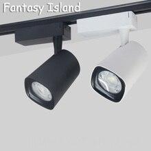 Fantasy Island tube high quality simple Nordic Modern Artwork LED Track Spotlight Rail Ceiling COB  AC85-260V 7W