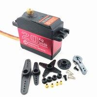 4 stücke RC Servo 20KG DS3218 oder PRO Digital Servo Baja Servo Hohe Drehmoment und Geschwindigkeit 0,09 S Metall getriebe für 1/8 1/10 Skala RC Autos