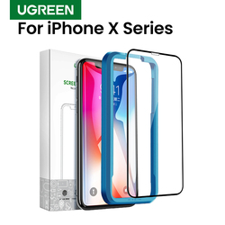 Ugreen Protective Glass For iPhone XS Max XR X Screen Protector 3D Full Coverage Tempered Glass On iPhone Protective Film