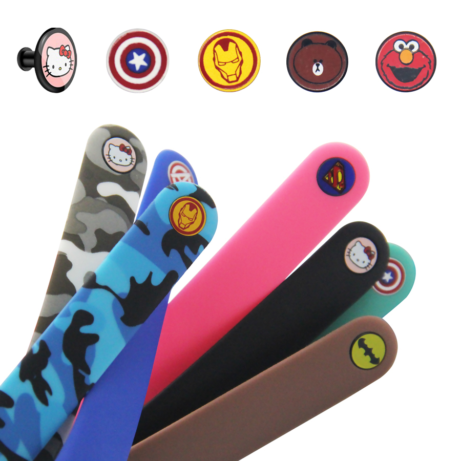 Colorful Buckle For Xiaomi Miband 4 3 2 Mi Band 4 3 2 Strap Pattern Button Bracelet For Miband 4 Limited Edition Wrist Strap