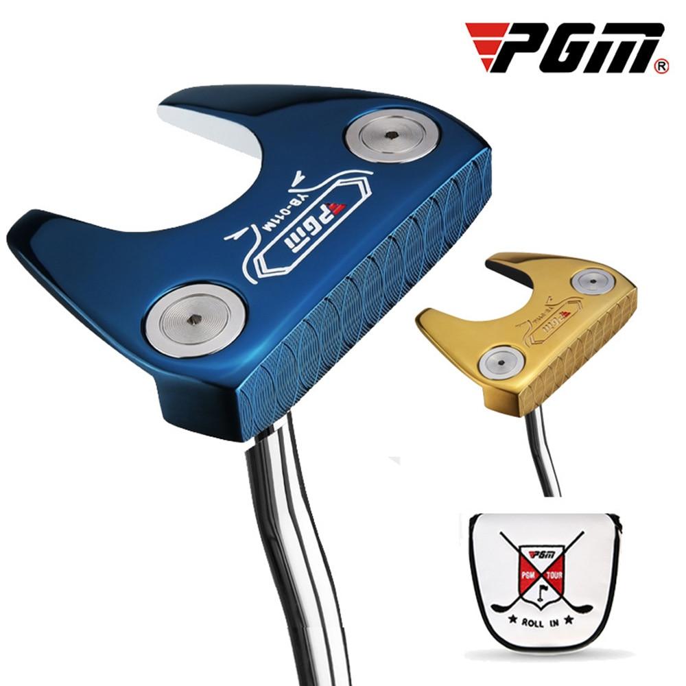 PGM Golf Clubs 2019 Newest CNC Integration Stainless Steel Shaft Golf Training Equipment Unisex Golf Putter Club Driving Irons