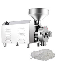3000W Electric Dry Grain Grinding Commercial Industrial Mill Wheat Flour Coffee Soybean Grinder Machine